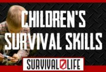 Children's Survival Skills / Learn how to train your little kiddo's when the SHTF. In this board we gathered the best survival skills and weapons for your children. Be equipped and learn how to survive by Survivallife.com / by Survival Life