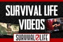 Survival Life Videos / Check out our AWESOME YouTube Channel. We have videos on camping, outdoors, preparedness and what to do when the SHTF. / by Survival Life