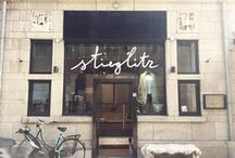 Stieglitz Boutique / we opened a boutique! Come by and see our collection at the Hobbemastraat 9 in Amsterdam.