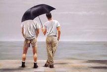 Steve Walker Art / The work of Canadian Gay artist Steve Walker b.1961. d2012