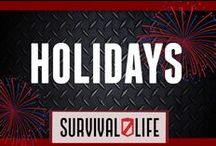 It's Holiday! / Great tips and ideas on how to enjoy your Holidays! / by Survival Life