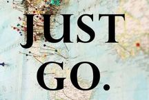 TRAVEL / Places where I want to travel & travel quotes