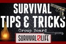 "Survival Tips And Tricks / ""Bad things happen. And the human brain is especially adept at making sure that we keep track of these events. This is an adaptive mechanism important for survival"".  ******This board is open to all survivalist and preppers! Simply follow me and send me a message so I can invite you! Please share your best pins, limit it to 5 pins per day, NO SPAM. Don't pin the same article. Any unrelated and unsuccessful pins will be deleted.  / by Survival Life"