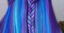 Hairstyle colour ideas / A stunning collection of vibrant and bold hair colours for all hair styles.