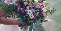 Bouquets / A beautiful selection of flowers and bouquets, with stunning blooms, pastel colours, vivid contrasts or just pretty flowers and foliage.