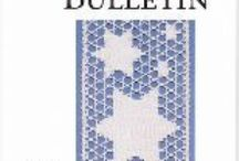 Lace Periodicals - In Print / Magazines or newsletters devoted to handmade lace, usually published by a lace-related organization. Some are online only.