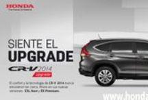 """CR-V 2014 / Siente el Upgrade de la nueva #Honda CR-V 2014, ahora con dos nuevas versiones """"Ex Premium y EXL Navi""""."""