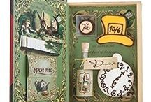 """Alice's Adventures In Wonderland's """"Pawfect"""" Tea Kit / This tea kit is designed to engage children in classic literature through the sacred ritual of afternoon tea. Alice comes to your tea-party and escorts you and your guests down the rabbit hole to Wonderland."""