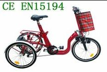 electric 3 wheel bikes / electric 3 wheel bikes planetary gear mechanism rotor fixedly connected. Does not increase the load of the wheel drive motor from the charging means when the job or not is controlled by the pedal crank with the independent wheel drive motor