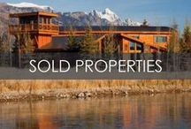 Sold Properties / For more information please visit www.JHREA.com or contact Jackson Hole Real Estate Associates at (888) 733-6060 or info@jhrea.com