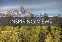 Inspiring Views / Inspiring views from the Jackson Hole Region