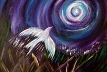 Paintings / I enjoy painting birds, animals, and landscapes.
