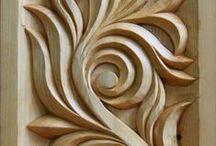 Woodcarving / řezbářství, nástroje, nápady, inspirace