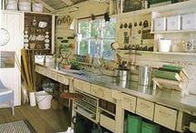 Arbeidsrom / Hobby, verksted og generelt rare interiørideer