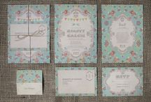 Wedding Invitations / Stationery / Custom designed Wedding Invitations and Wedding Stationery by Boutique Wedding Stationery