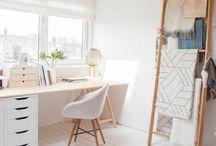 Desk • Ideas / Alles rund um den Schreibtisch :)...