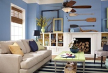 Living Room and Study / Comfortable and beautiful living spaces