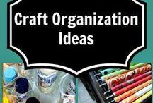 Craft Organization / DIY