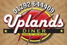 Main Menu / The Main Menu for the Uplands Diner