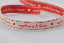 Ribbons / Lovely ribbons available at www.emzo.co.uk