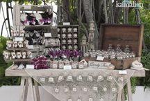 mesas para fiesta