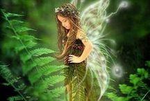 Fairies, angels
