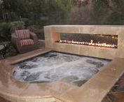Fire and ice / Fire pits and pools