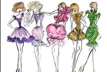 fashion sketches / fashion love love love! / by Trisha Celestine Naag