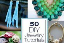 Jewelry / DIY jewelery ideas to try!