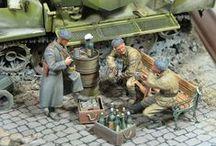 WWII - dioramas