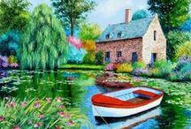 Jean Marc Janiasczyk / his artwork! so colourful!