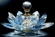 """Les Flacons Fascinant / """"Where should I apply perfume?"""" a young lady asked.                     """"Where do you want to be kissed?""""                                           Coco Chanel"""