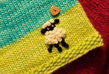 Knit for the very beginners / Maglia ferri lana