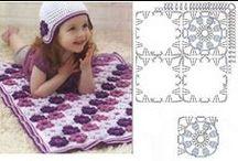 Crochet-motywy / motywy,kwadraty