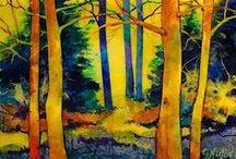 trees ... / art / by Jee Dew