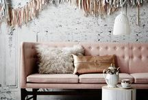 Blush Love / The perfect colour this season. We're in love with everything blush! #flaxfieldlinen #blush #decor #home