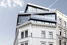 Penthouse & historic building