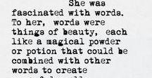 Luciferous Logolepsy / Sometimes I have a way with words - sometimes words have their way with me. Atticus