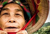 Portraits d'Asie / Portraits capturés lors de voyages en Asie