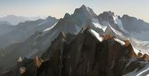 Mountains of Agatar / Inspirational Artwork for the Creation of fantastic Mountains