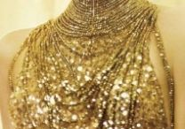 Neck Warmers / The prettiest dresses are worn to be taken off.  Jean Cocteau