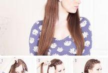Hair and beauty tutorials