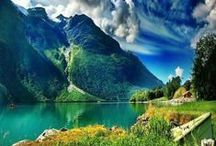 Nature & View / Just like all of this picture. :) Very pretty...