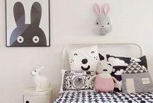 Kinderkamerinspiratie Zwart/Wit / Mooie sfeerbeelden en producten voor de kinderkamer in zwart/wit.