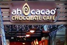 IWTTT - Ah Cacoa Chocolate Factory Cancun Mexico Quintana Roo / I promote for Sandos Resorts Vacation Club which offers a 5 night all inclusive stay for attending their timeshare promotion!  http://IWantToTravelTo.com