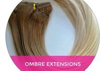Shop Our Collections / Review the different types of collections for hair extensions and see which is best for you!