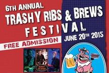 Trashy Ribs & Brews Festival / FREE EVENT! - Come join us!  Downtown Orange The party is on! Yum~yum food, great music and fun for the entire family! YOU ARE INVITED!