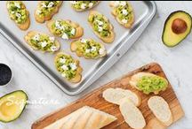 Small Bites / From bruschettas to sliders, our flavorful breads are the perfect canvas for hors d'oeuvres and small bites.