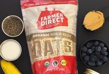 Our Products / Organic, fair trade product from family farms on the Canadian Prairies.
