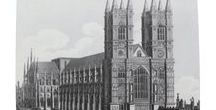Architecture Inspired Range / This range of products has been developed to celebrate the architectural magnificence of Westminster Abbey. It is centred around the engraving you see here titled North West View of Westminster Abbey which was created by J. Pass in 1815. This range highlights the incredible details that could so easily be taken for granted if you do not take the time to appreciate them.